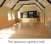 Spacious upstairs hall